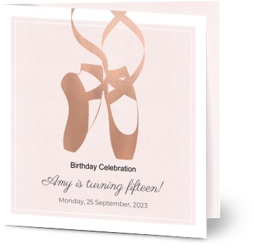 girls birthday party invitations personalise then print