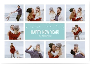new year cards invitations w free photo uploads designs online