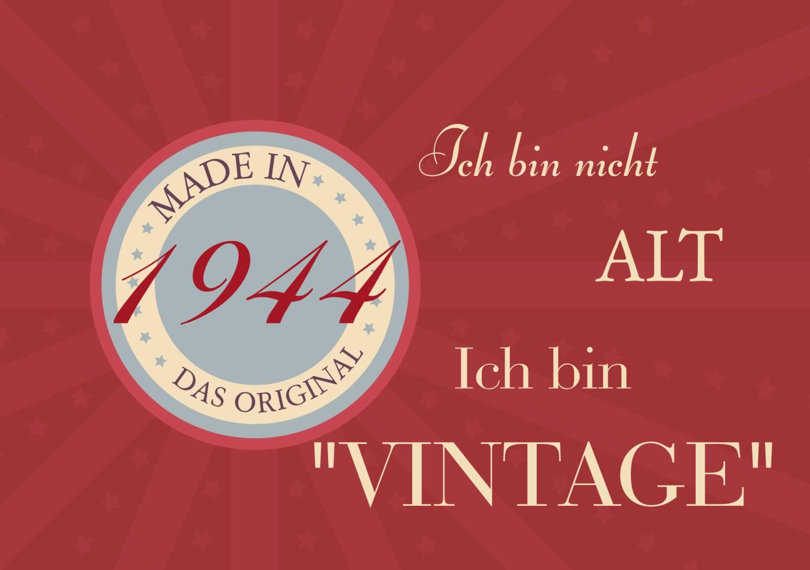 Einladung 80. Geburtstag Vintage-Abzeichen ...