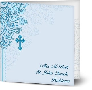 vintage baptism invitations templates from optimalprint
