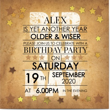 50% OFF - 18th Birthday Invitations   Optimalprint UK