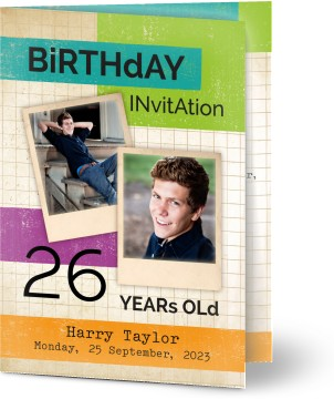 birthday invitations personalised by you create your own birthday