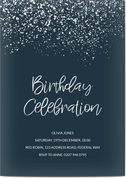 50 Off Customized 80th Birthday Invitations Optimalprint