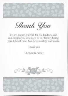 4 formats image 0 93 best sympathy thank you cards images on pinterest funeral - Personalized Funeral Thank You Cards