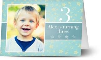 Kids party invitations personalised invitations for kids birthdays 3 years old stopboris Gallery