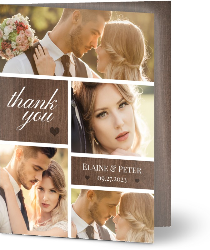 See All Wedding Thank You Cards