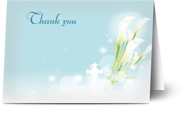 Thank you cards personalised with photo and text optimalprint funeral personalised thank you cards altavistaventures Image collections