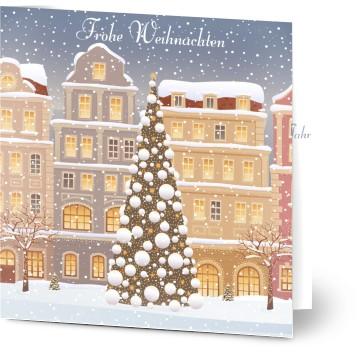weihnachtskarten ohne foto von ihnen erstellt bei. Black Bedroom Furniture Sets. Home Design Ideas