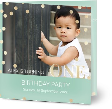First birthday invitations optimalprint uk 2 formats filmwisefo