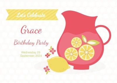 Personalized 18th Birthday Invitations