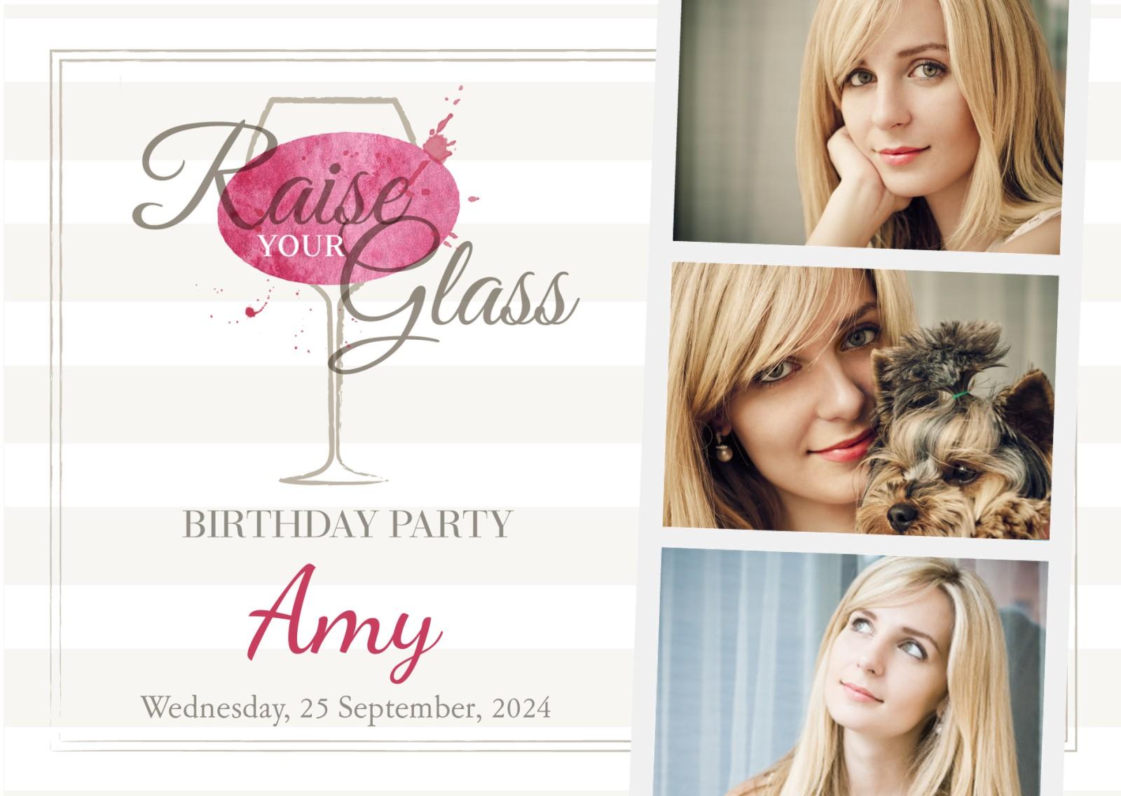 See All Personalised 21st Birthday Invitations
