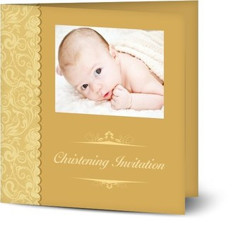 vintage christening invitations designs you can personalise