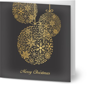 Customised business christmas cards and corporate christmas cards 4 formats reheart Gallery