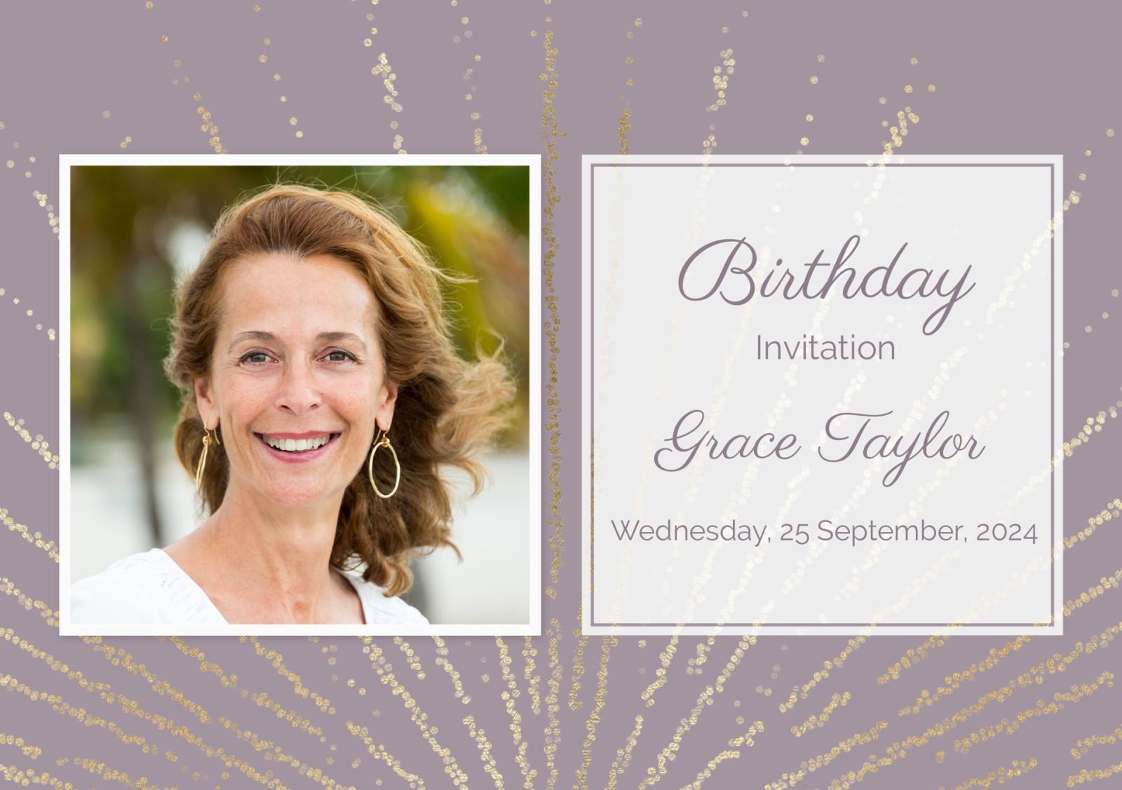 See All Personalised 80th Birthday Invitations
