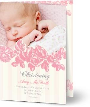 Christening invitations christening cards personalised invites photo personalised christening invitations stopboris Images