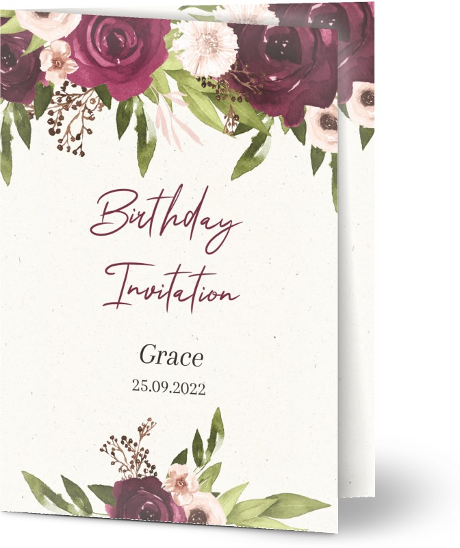 See All Personalised 80th Birthday Invitations