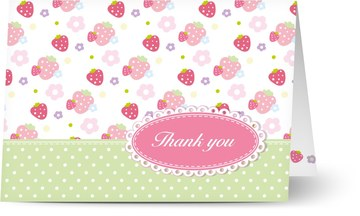 Personalised baby thank you cards w photo 48hr delivery no photo baby thank you cards altavistaventures Image collections
