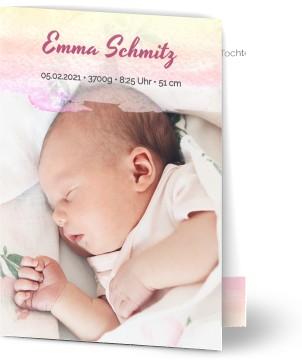 Babykarten.Geburtskarten Babykarten