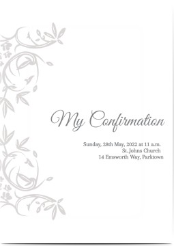 confirmation invitations w free photo uploads designs