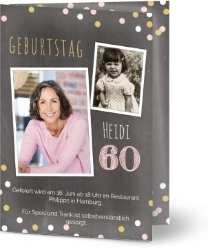 Einladungskarten Zum 60 Geburtstag Gestalten Optimalprint