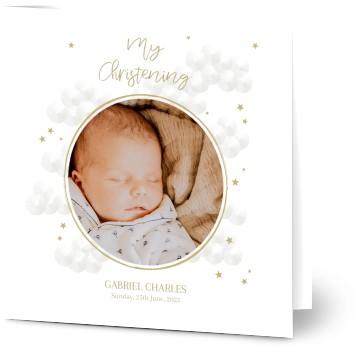 Christening invitations christening cards personalised invites view all personalised christening invitations stopboris Gallery