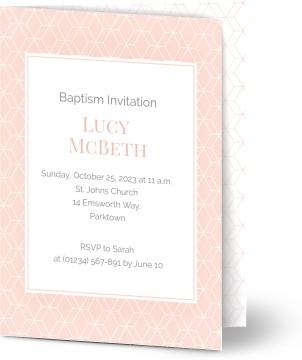 Girls baptism invites templates for you to customize optimalprint 7 formats stopboris Images