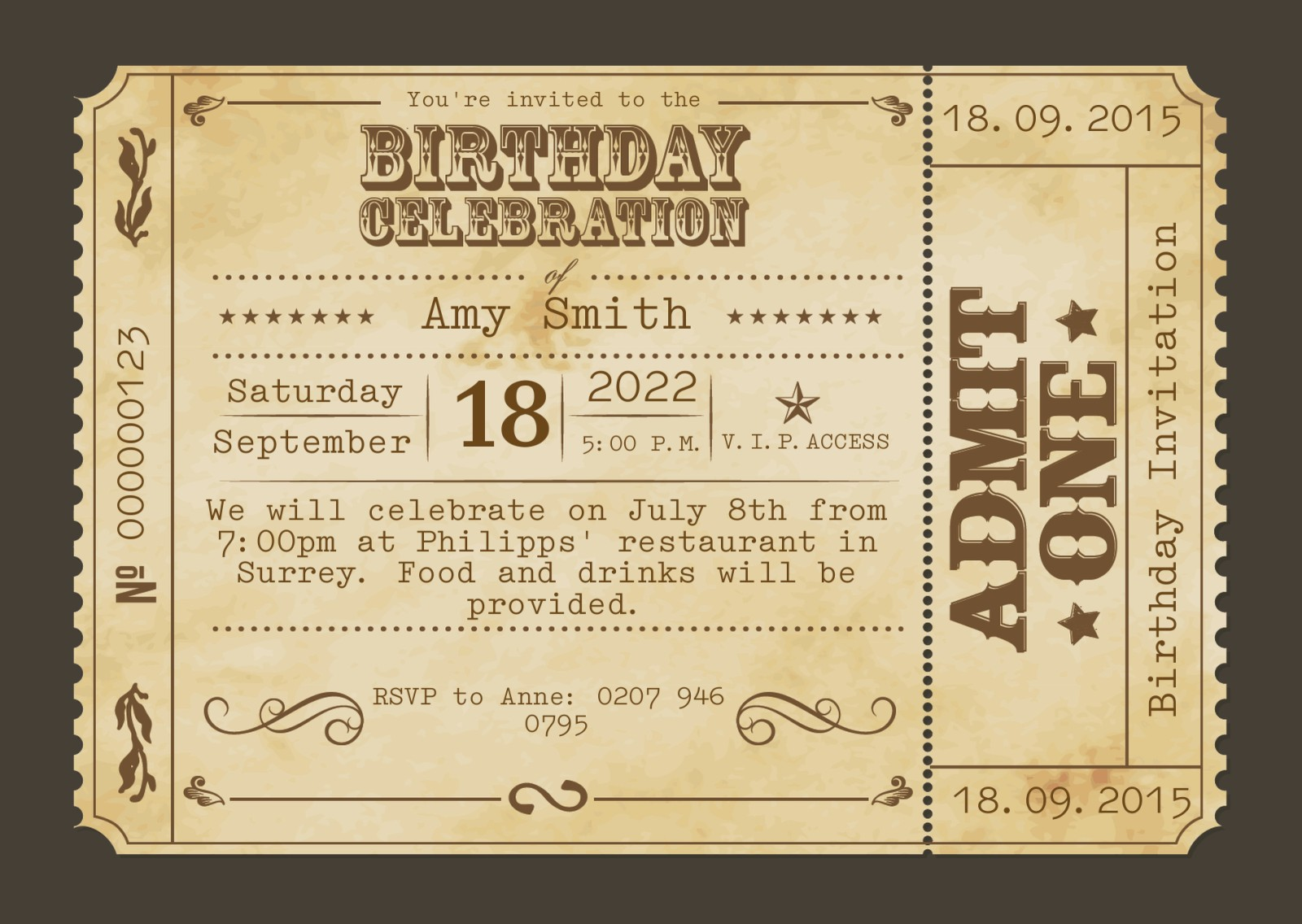See All Customized Theme Card 60th Birthday Invitations