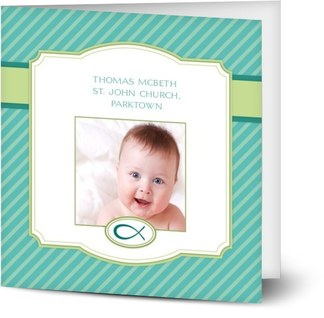 Personalized Photo Baptism Invitations Created Online Optimalprint