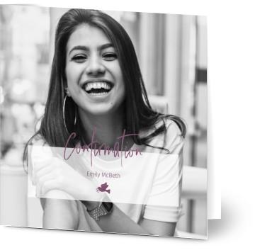 confirmation invitations w free photo uploads designs uk