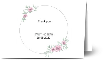 Confirmation Thank You Cards Personalised Designed By You