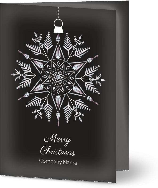 Personalized Business Christmas Cards.Corporate Christmas Cards